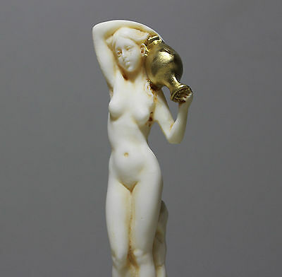 Korai Statue Acropolis Ancient Athens Museum Copy Nude Art Sculpture Figure 6.3""