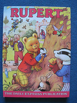 Collectable The Daily Express Rupert Annual book 1980 -  Lovely condition