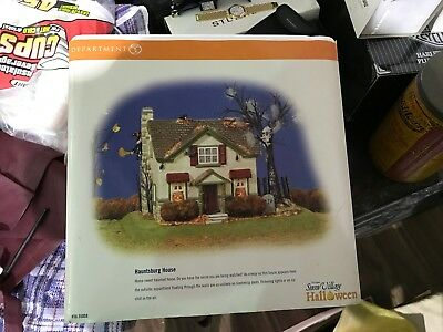 Hauntsburg House of Fortune Department 56 -  Mint