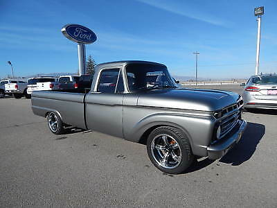 1966 Ford F-100  1966 Ford F-100 Modified Frame-off Restoration, one of a kind!