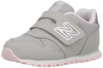 New Balance 373 Sneaker Unisex bambini Grigio Grey/Pink a9n