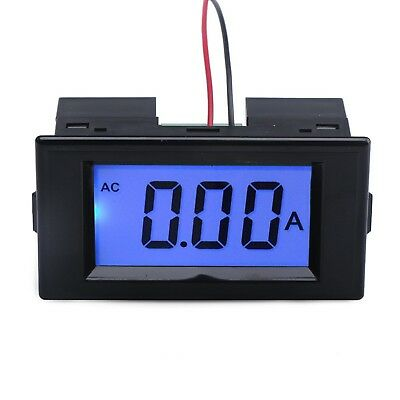 DROK® AC 220V Power Supply Ammeter LCD Digital Display Panel Amp Meter with Pre