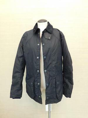 $429 Barbour Digby Jacket Navy L blue Mens Sylkoil Coat e0535 outdoor rain SWAG