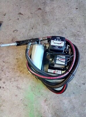 New Electric Fuel Transfer Pump with Filter and flow meter 240v
