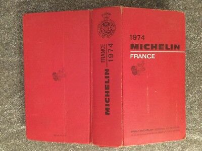 Guide Michelin France 1974  Touring Club De Belgique