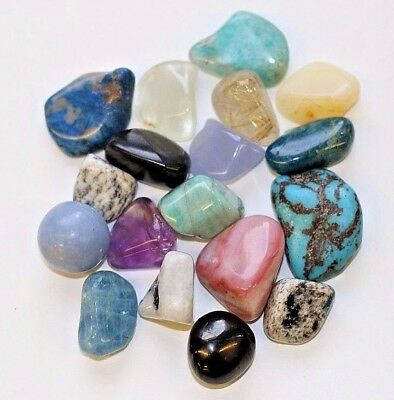 Healing Crystals - Rare - Polished Crystals Tumble stones Buy 4 get 2 FREE