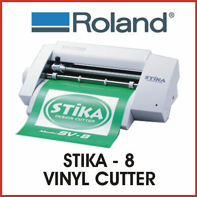 Roland Vinyl Cutter - Roland Stika Sv 8 - Fixed Price Delivery - Protech Cnc