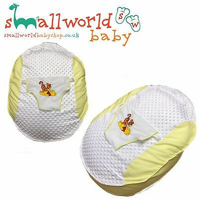 Personalised Boys Girls Grey Winnie The Pooh Baby Bean Bag (NEXT DAY DISPATCH)