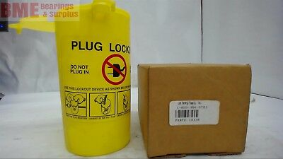 Lot Of 2-- Lab Safety Supply 10135 Plug Lock-Out