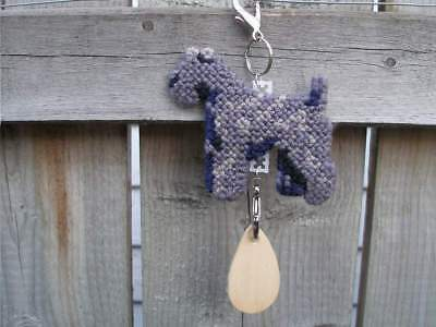 Kerry Blue Terrier dog crate tag or hang anywhere handmade sign any day ornament
