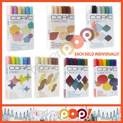 US AUTHORIZED RETAILER - COPIC Ciao Marker Set 6 Collection
