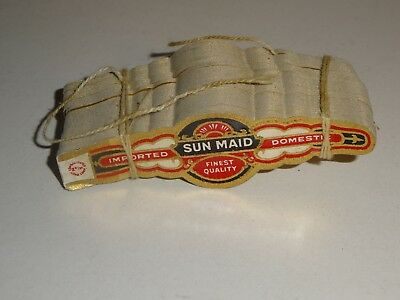 Vintage Sun Maid Cigar Bands Labels lot of 100 Imported Domestic Finest Quality