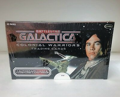 Battlestar Galactica Colonial Warriors - Sealed Trading Card Hobby Box - 2006