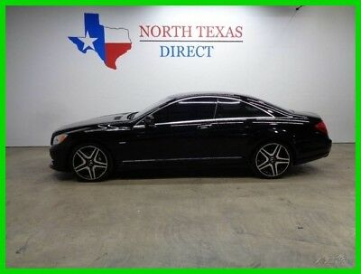 2011 Mercedes-Benz CL-Class CL 550 Heated Leather Sunroof Back Up Camera GPS 2011 CL 550 Heated Leather Sunroof Back Up Camera GPS Used Turbo 4.7L V8 32V