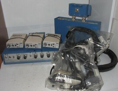 HME Wireless Intercom System Base Station & Power Supply Headphones Lot Vintage