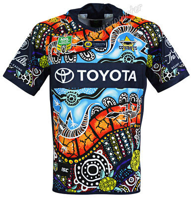 North Queensland Cowboys 2018 NRL Indigenous Jersey Mens and Kids Sizes BNWT