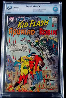 The Brave and the Bold #54 CBCS 5.5 1st Teen Titans!!!