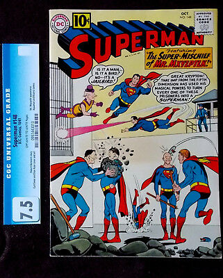 Superman #148   Slabbed at 7.5  Super sharp Copy!