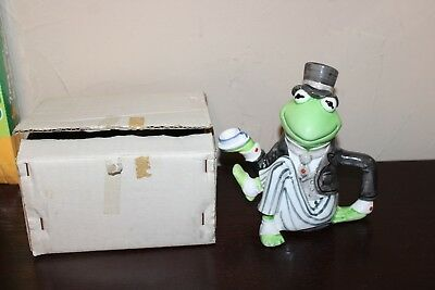 Ceramic Kermit the Frog Teapot By Sigma the Tasteseller