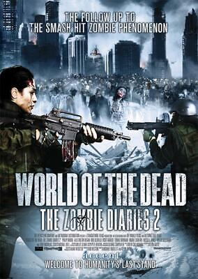 World Of The Dead - The Zombie Diaries 2 (DVD, 2011) - Region Free