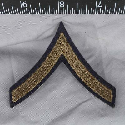Vintage WWII Korean War Era US Army PFC Private First Class Chevron Patch ajd