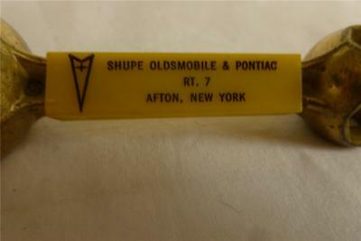 Old Promotional Gift Of (8) One Hand Wrench Settings ~ Shupe Olds & Pont- Afton