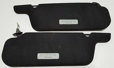 Sun Visor Black Set Cars without an OEM Sunroof Grade A 1989-1993 Thunderbird Co