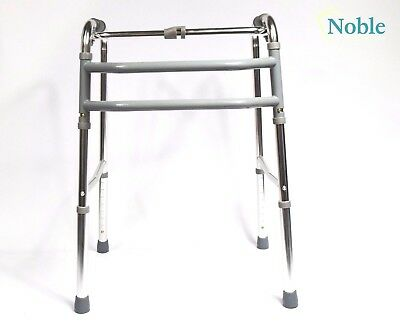 Adjustable Walking Frame Mobility Frame Walking Aid Lightweight Folding