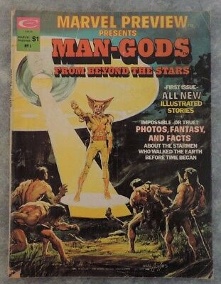 Marvel Preview Presents #1 Man-Gods From Beyond The Stars