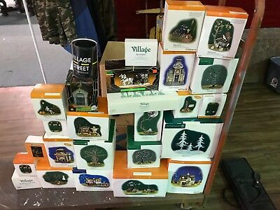 Department 56 Huge Lot of Villages & accessories!  NIB - MINT! BLOWOUT!