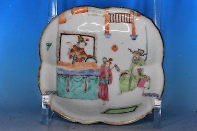 Great Chinese Famille Rose Porcelain Antique Bowl