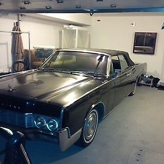 1967 Lincoln Continental Chrome 1967 lincoln continental convertible