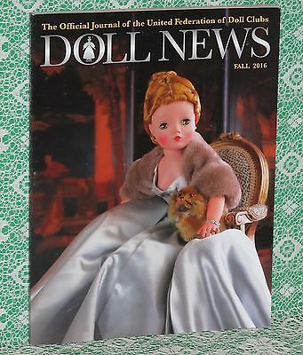 Doll News Fall 2016 with Article and Fabulous Photos of  CISSY NEW CONDITION!