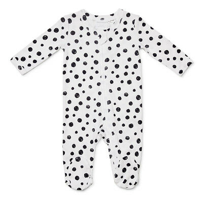 NEW Marquise Footed Zipsuit Spots Size 000