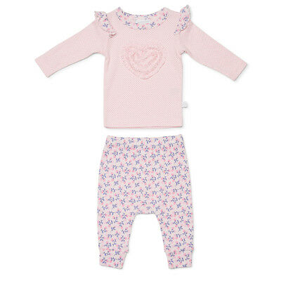 NEW Marquise Top and Footless Pant Pink Size 00