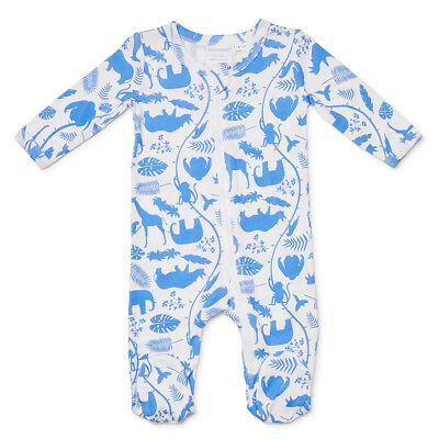 NEW Marquise Footed Zipsuit Animal Size 000