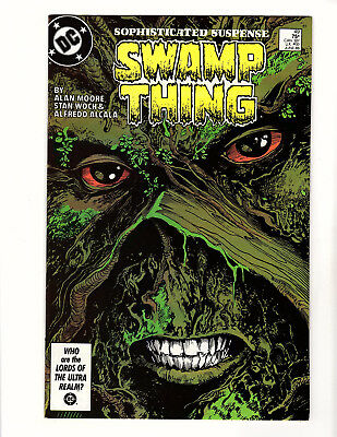 Swamp Thing #49 (1986, DC) VF- Vol 2 Alan Moore Justice League Dark Prototype