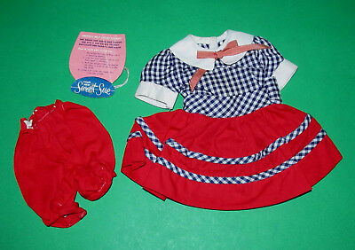 """Vintage 1956 American Character Sweet Sue Co-ed Outfit with Hang Tag 4 18"""" Doll!"""
