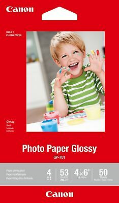 "Canon new Photo Paper Glossy 4""x6"" (50 Sheets)"