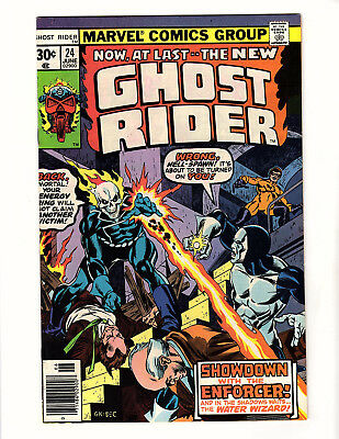 Ghost Rider #24 (1977, Marvel) VF/NM Vol 2 Jim Shooter Don Heck Water Wizard