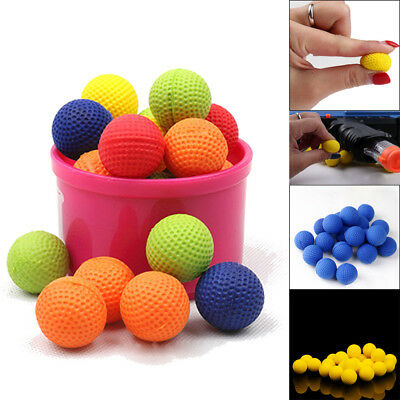 100Pcs Bullet Balls Round Compatible For Nerf Rival Apollo Child Toys Gun Refill