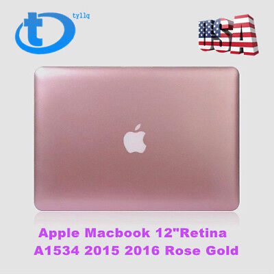 "Apple Macbook 12"" Retina LCD Screen Display Assembly A1534 2015 2016 Rose Gold"
