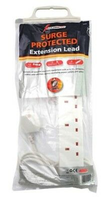 Lectrolite 6-Way Surge Protected Extension Lead
