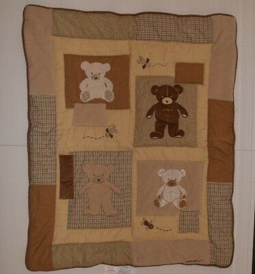 Teddy Bear 100% Cotton (Comforter Only) by Eddie Bauer *Discontinued*