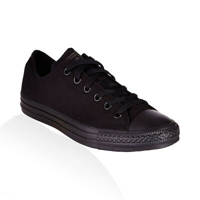 Converse - Chuck Taylor All Star Low Mens Womens Unisex Casual Shoes - Black Mon