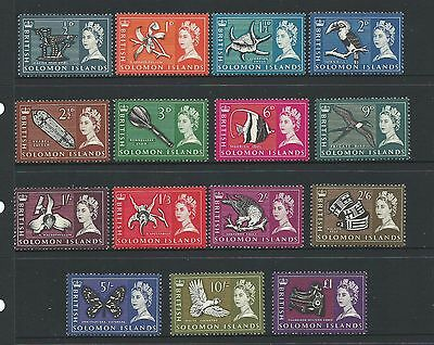 1965 Various Designs Def Set of 15 Complete MUH/MNH as Issued