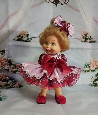 dress doll Baby Face Galoob.  shoes included!