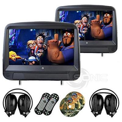 Sonic Audio HR-9A - Universal Leather-Style Car DVD/Multimedia Touch-Screen...
