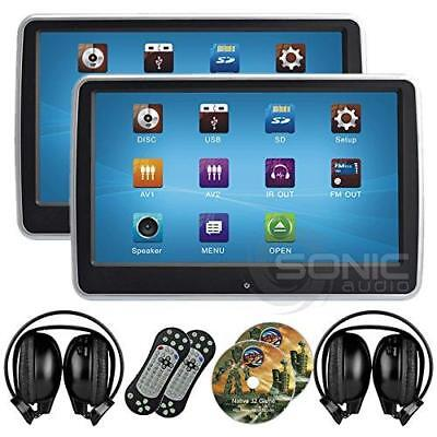 """2 x Sonic Audio ® HR-10CT - Universal Touch-Screen 10.1"""" Tablet-Style..."""
