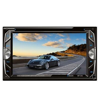 """Homelink® 262 6.2"""" Inch Touchscreen In-dash Double Din Car DVD Player Stereo..."""